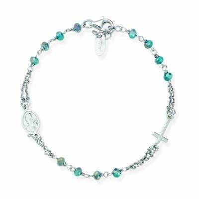 codice promozionale a515a f0aa4 Amen Bracciale Donna bracciale donna rosario gioielli amen